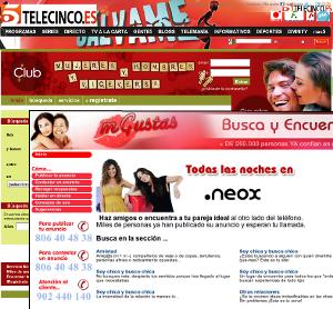 ATS - Contactos Tele 5 / Antena 3