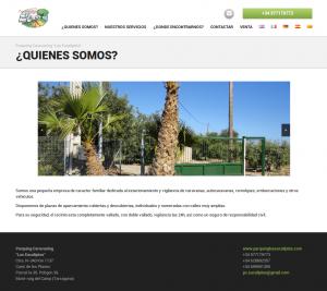 Web Parquing Caravaning Los Eucaliptos