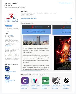 App Store CC Tres Cantos