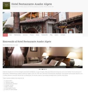 Web Hotel Restaurante Asador Algete